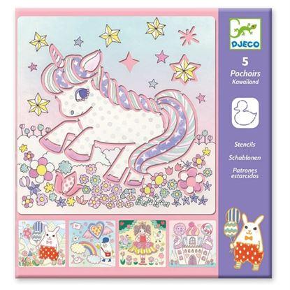 Immagine di stencil unicorno