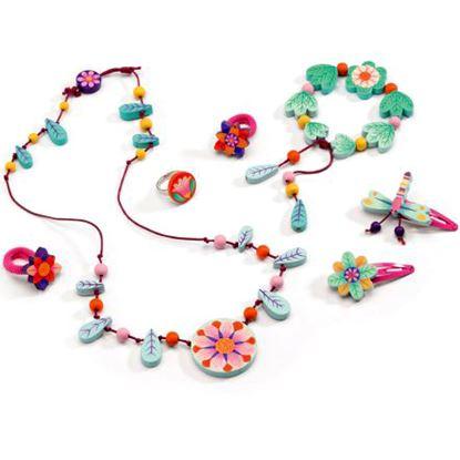 Immagine di cofanetto gioielli fioriti