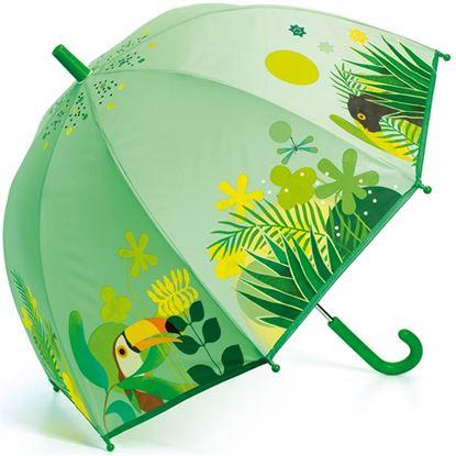 Immagine di ombrellino verde