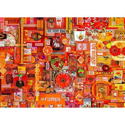 Immagine di puzzle arancione pz 1000