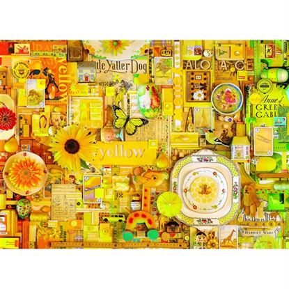 Immagine di puzzle giallo pz 1000