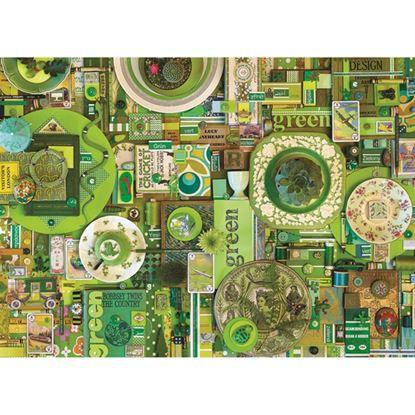 Immagine di puzzle verde pz 1000