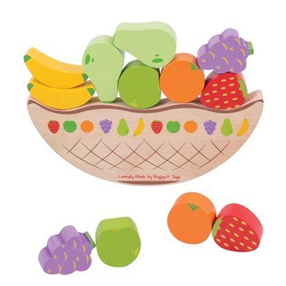 Immagine di frutta in equilibrio