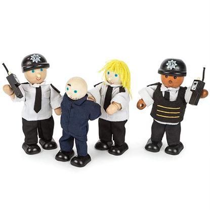 Immagine di poliziotti e ladro