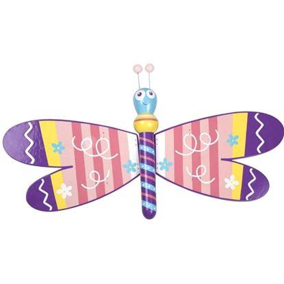 Immagine di figura volante libellula