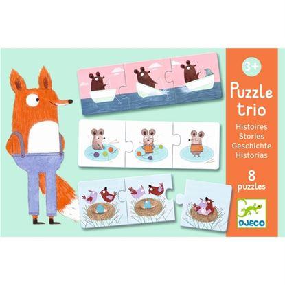 Immagine di puzzle trio storie