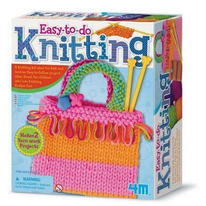 Immagine di lavoro a maglia per bambini