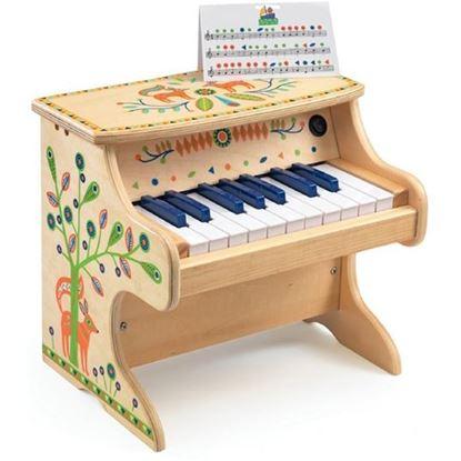 Immagine di pianoforte giocattolo andino