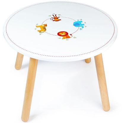 tavolino per bambini giungla