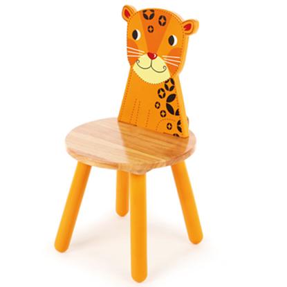 sedia per bambini leopardo