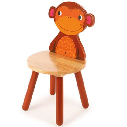sedia per bambini scimmia