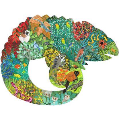 puzz'art camaleonte djeco