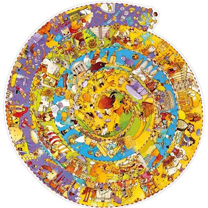 puzzle storia djeco