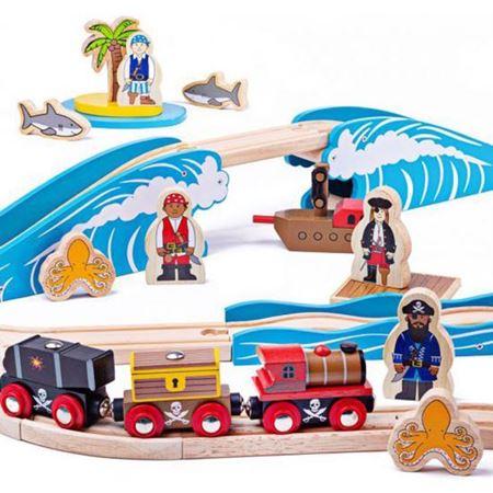 Immagine per la categoria trenini in legno