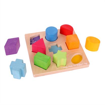 tavola con forme e colori