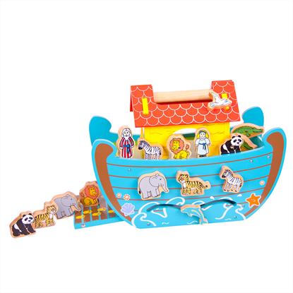 arca di noè con animali gioco