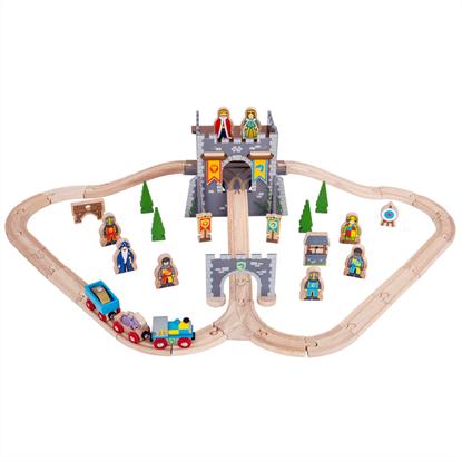 pista trenini castello