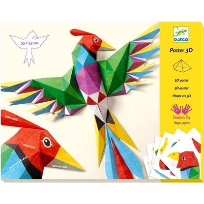 poster 3D amazonia djeco