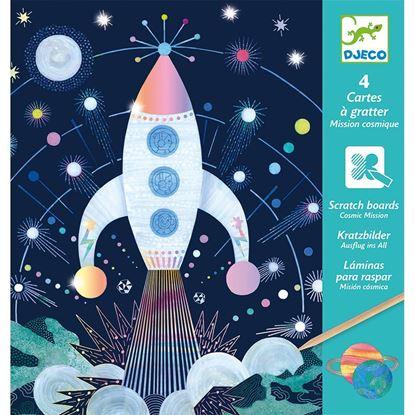carte da grattare missione cosmica