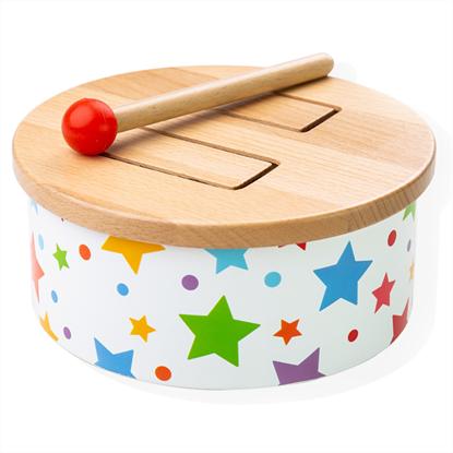 tamburo in legno