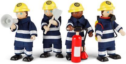pompieri con accessori