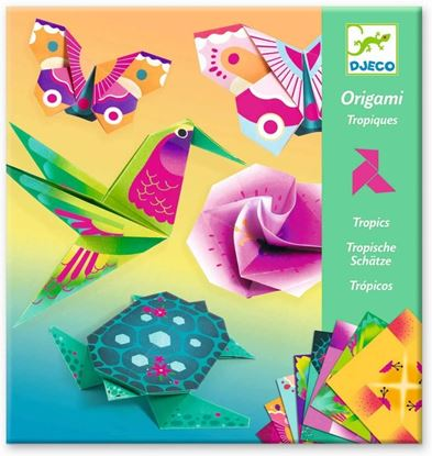 origami tropici djeco