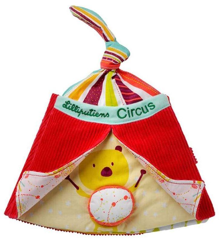 libro di stoffa il circo