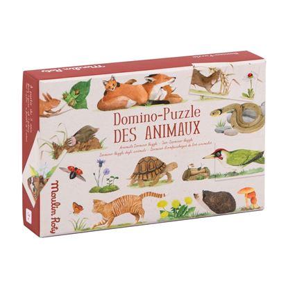 domino puzzle degli animali