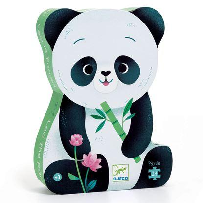 puzzle leo il panda djeco