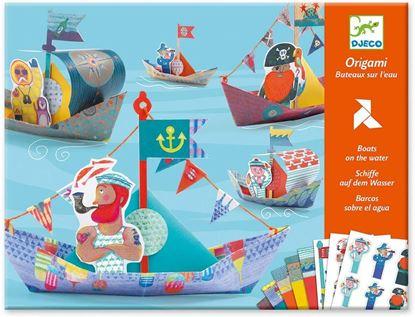 origami barche galleggianti  djeco
