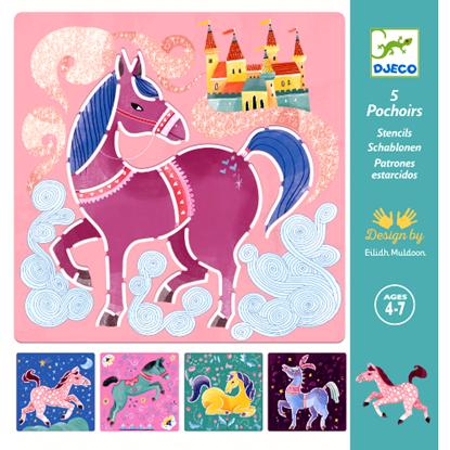 stencil cavalli djeco