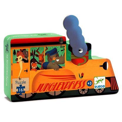 puzzle locomotiva djeco