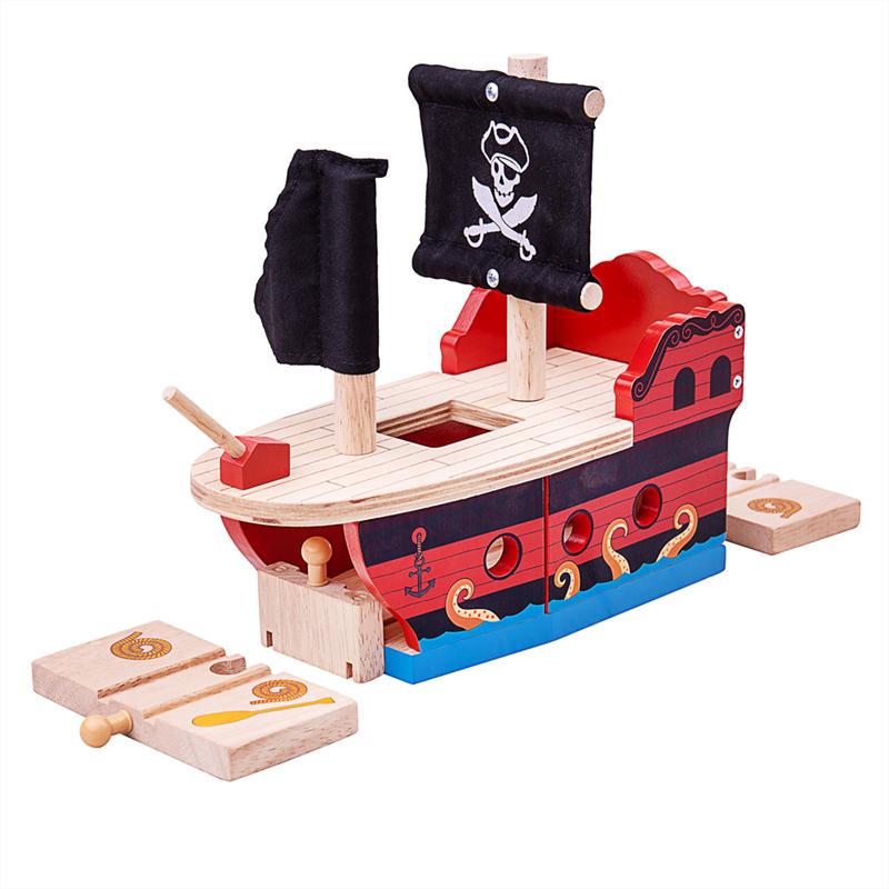 galleria trenini e galeone pirati