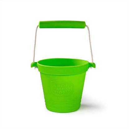 secchiello verde in silicone