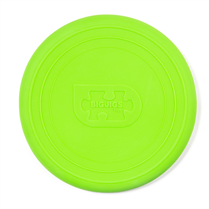 frisbee verde in silicone